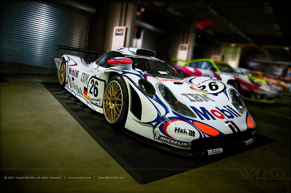 Porsche 911 Gt1 Race Car Evolution For